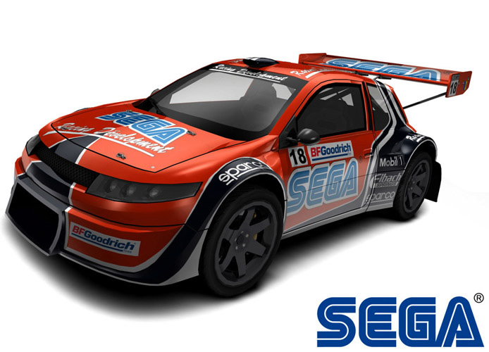 Unlicensed Sega Car